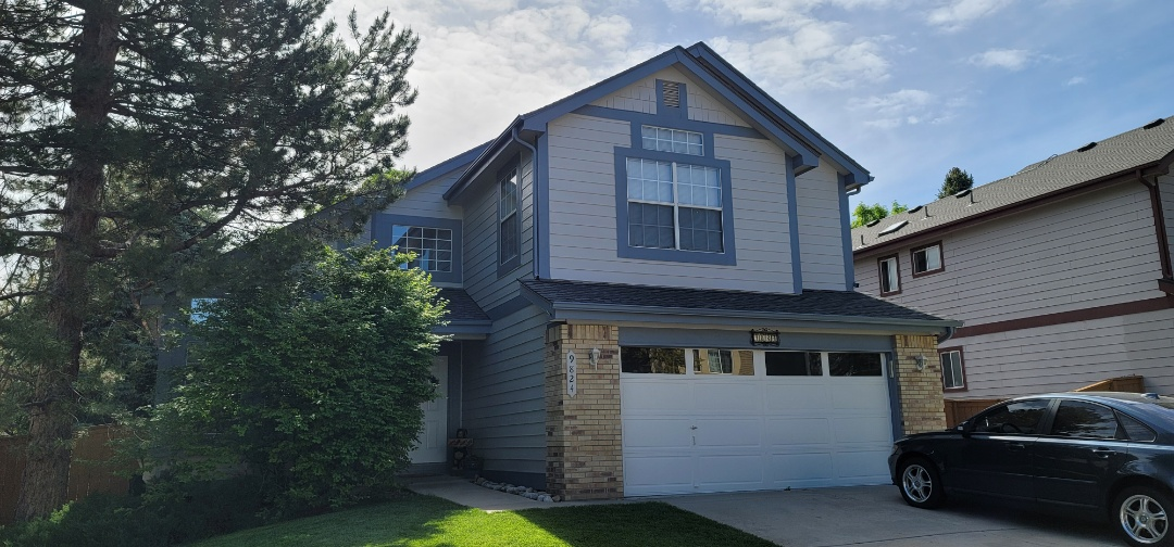 Littleton, CO - We are doing a gutter cleaning and a gutter screen install for this house in Highlands Ranch