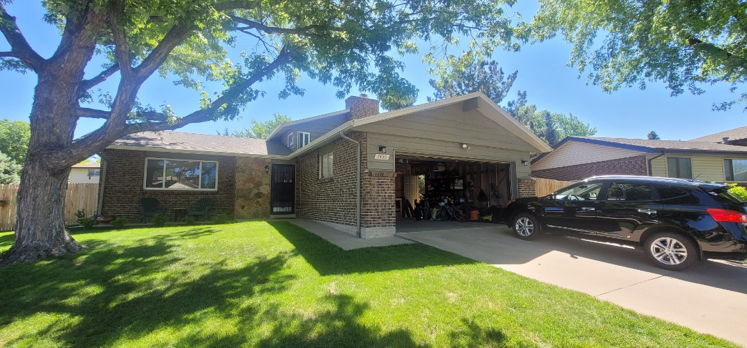 Centennial, CO - We are doing a roof inspection for a roof leak for this house in Centennial that has a leak coming from a swamp cooler