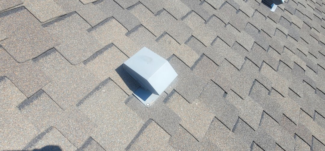Centennial, CO - We are doing a roof inspection for a roof leak for this house in Centennial that has water coming into his bathroom vent