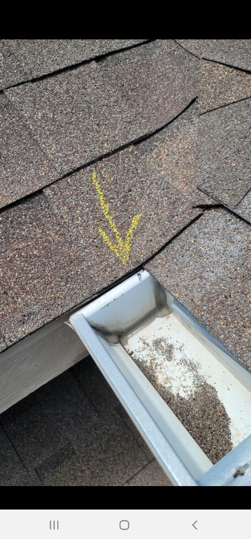Parker, CO - We are doing a roof inspection for this house in Castle Rock that has some shingles that need to be replaced and some flashing work needs to be done