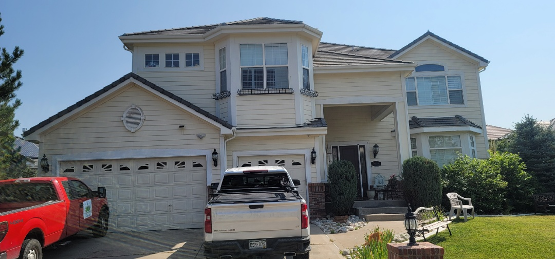 Aurora, CO - We are doing a roof inspection for this roof in Aurora that had a roof leak on the concrete tile roof