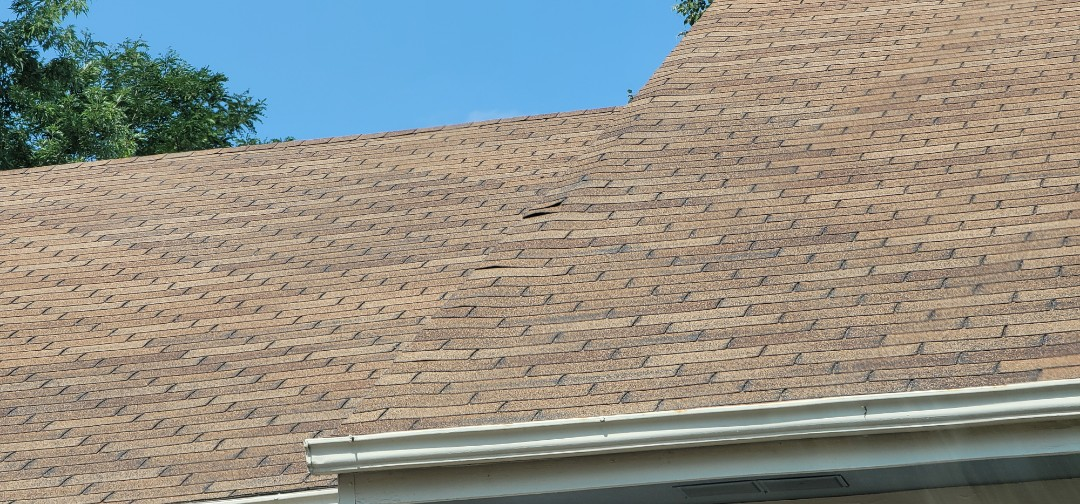 Littleton, CO - We are doing a roof repair for this house in Highlands Ranch