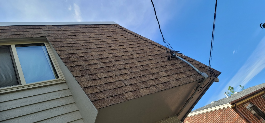 Denver, CO - We are doing a roof inspection for this house in Denver that has a damaged roof shingle that needs to be replaced