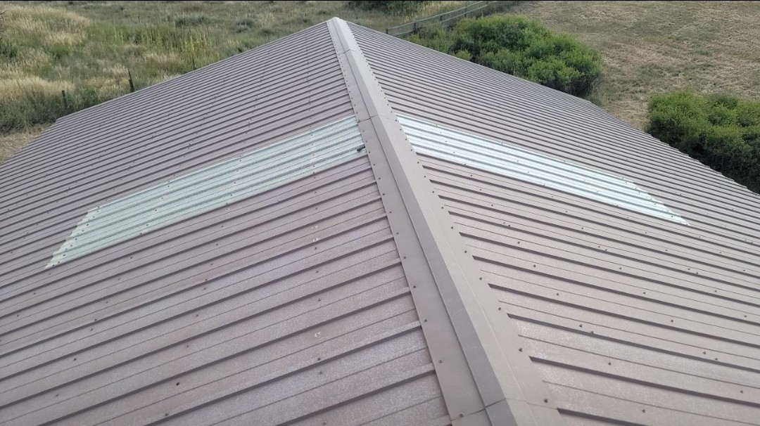 Parker, CO - We are doing a roof inspection for a metal roof in Elizabeth
