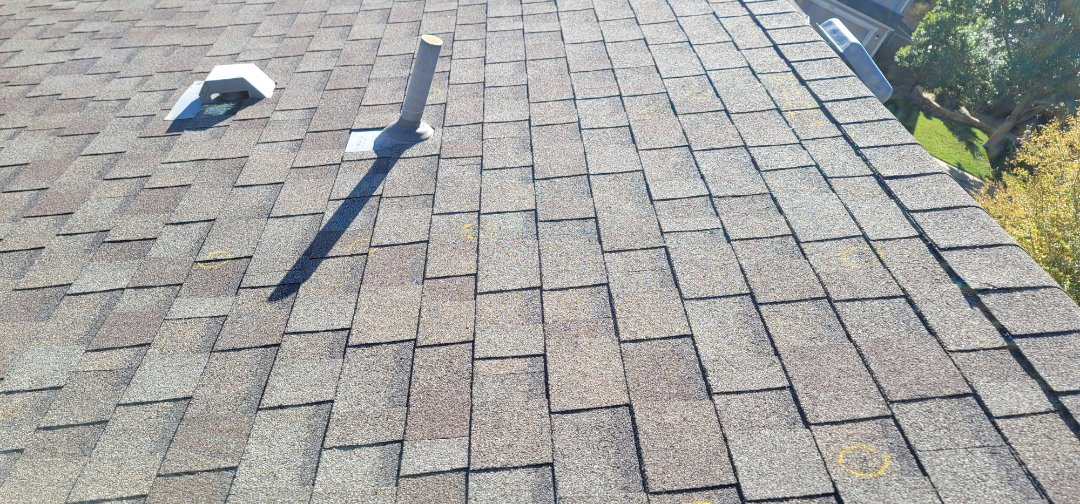 Highlands Ranch, CO - We are doing a roof inspection for this house in Highlands Ranch that has some hail damage so we are working with the insurance company for full roof replacement