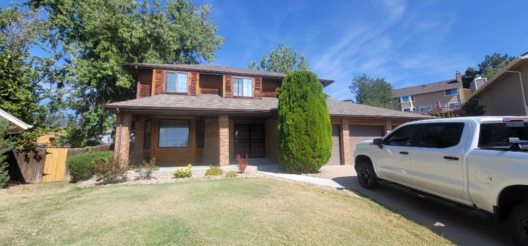 Centennial, CO - We are doing a roof inspection for this house in Centennial