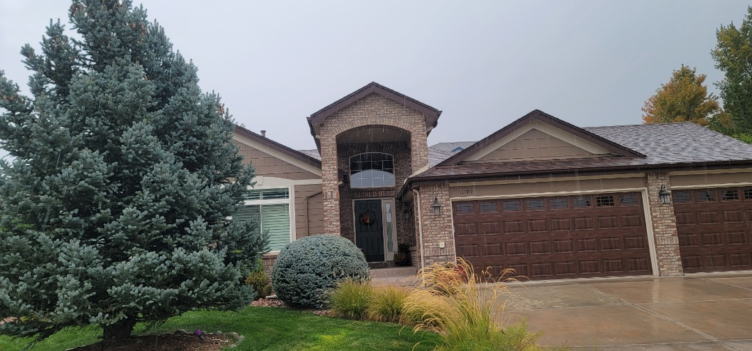 Parker, CO - We are doing a roof inspection for hail damage and a roof replacement for this house in Parker