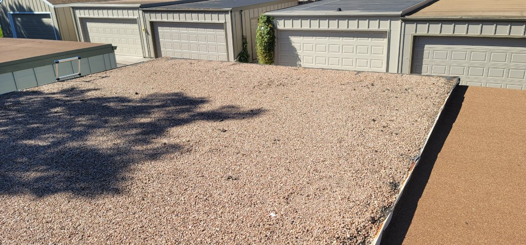 Centennial, CO - We are doing a roof replacement inspection for this flat roof in Centennial