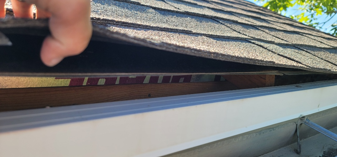 Parker, CO - We are doing a roof inspection for this house in Parker that has hail damage from a recent hail storm