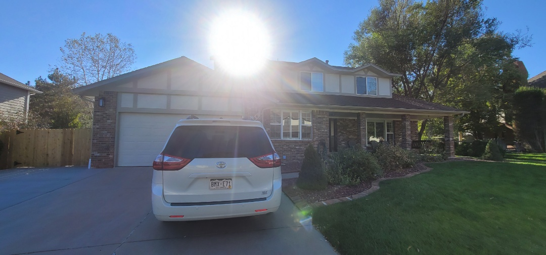 Centennial, CO - We are doing a roof inspection for a full roof replacement and gutter replacement for this house in Centennial