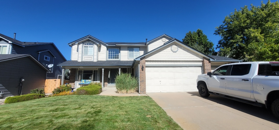 Centennial, CO - We are doing a roof inspection for a roof leak for this house in Centennial