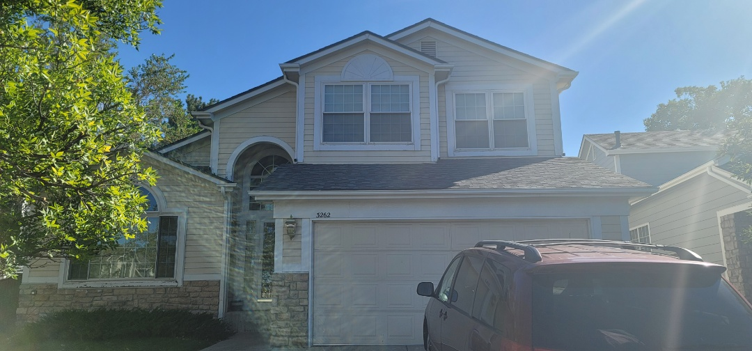 Littleton, CO - We are doing a roof inspection for this house in Highlands Ranch for a full roof replacement due to recent hail storm