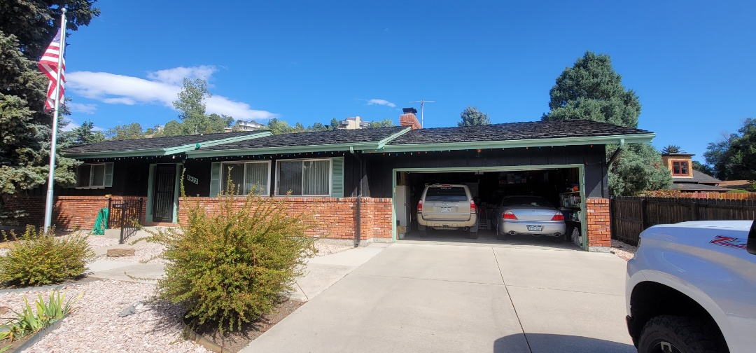 Colorado Springs, CO - We are doing a gutter replacement for this house in Colorado Springs