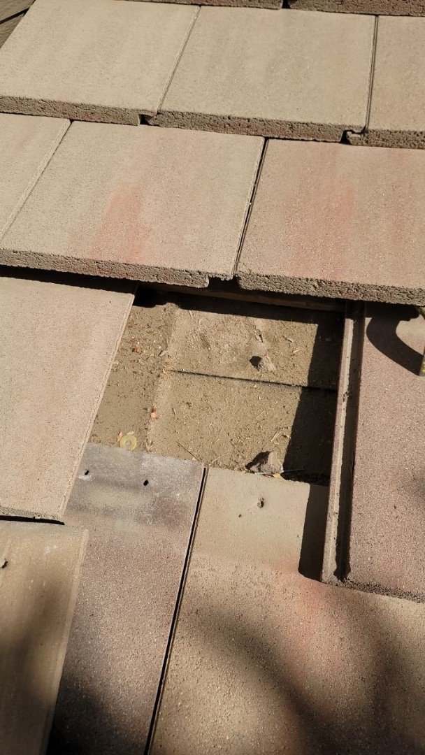 Parker, CO - We are doing a roof repair for this concrete tile roof in Parker