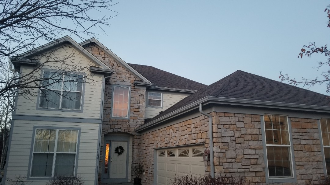 Westminster, CO - We did a roof replacement on this house with Owens Corning Duration shingles, teak color and completed it fully in one day.
