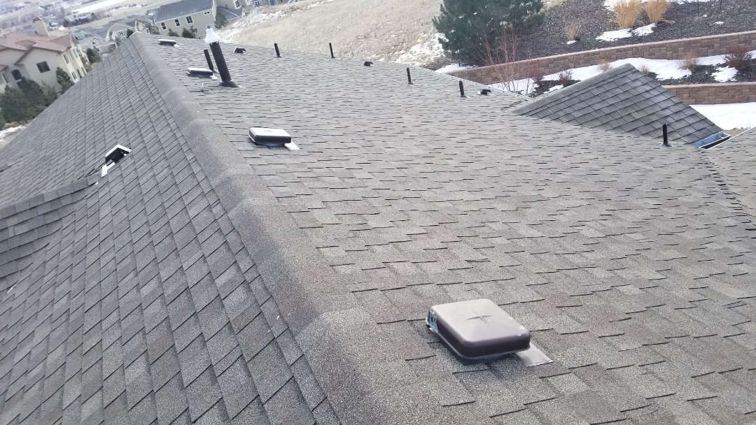 Parker, CO - We are diagnosing a roof leak coming in around a pipe vent.