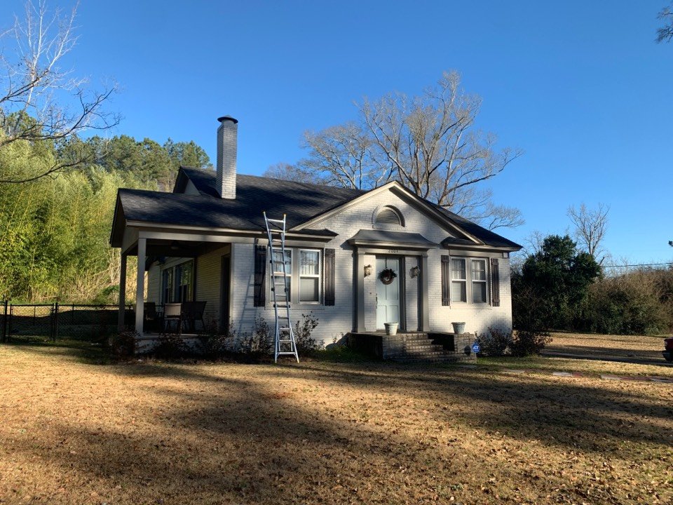 West Point, GA - Roof Replacement Estimate in West Point, Ga. we will install GAF Timberline HDZ Architectural Shingles in weather wood. #gaf #gartimberline #roofingga #rooferga #rooferwestpoint #rooferlagrange.