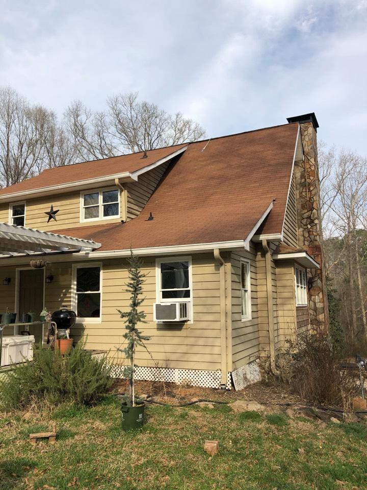 Newnan, GA - Roof leak inspection replacement estimate