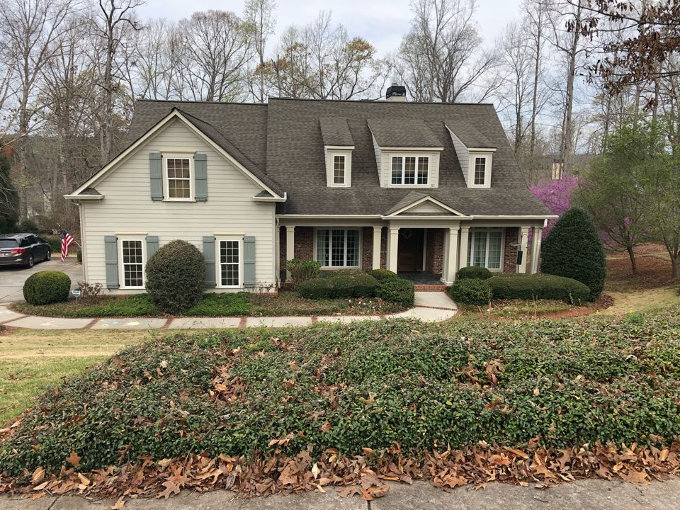 Newnan, GA - Hail damage and gutter inspection