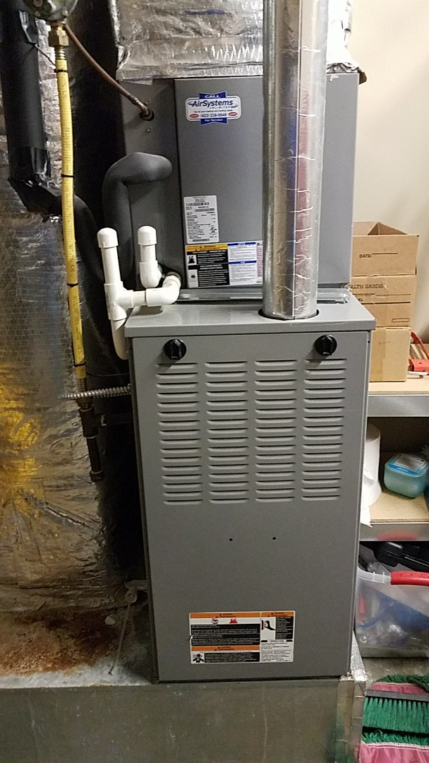 Cleveland, TN - Service call. Performed repair on tempstar furnace