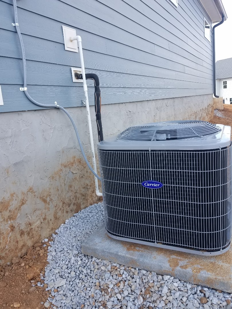Ooltewah, TN - Installation call. Performed install of Carrier AC