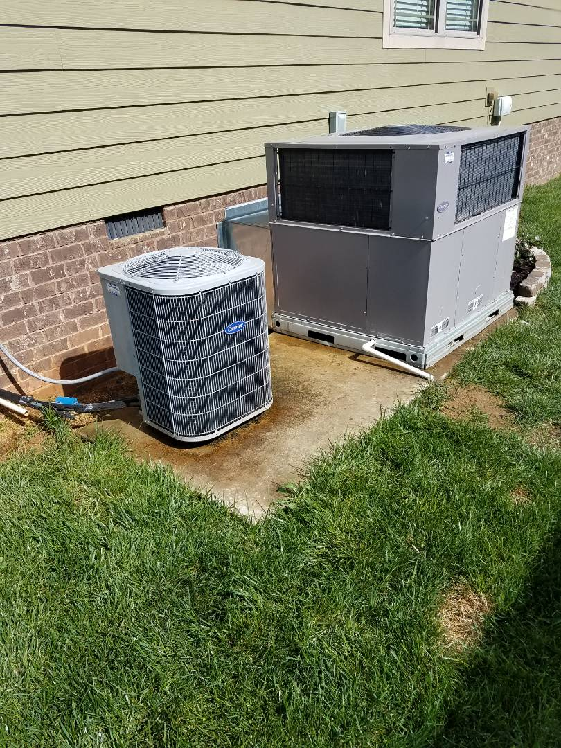 Apison, TN - Service call,  performed repair on Carrier heat pump