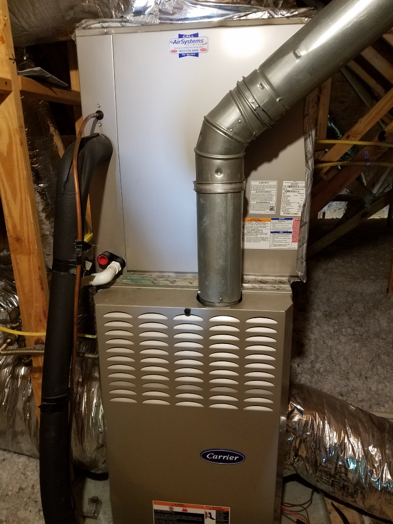 Chattanooga, TN - Service call. Performed repair on Carrier AC.