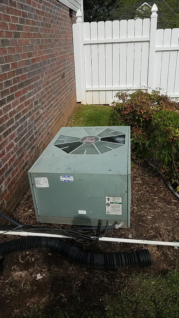 Ooltewah, TN - Service call. Performed service on a Ruud system.