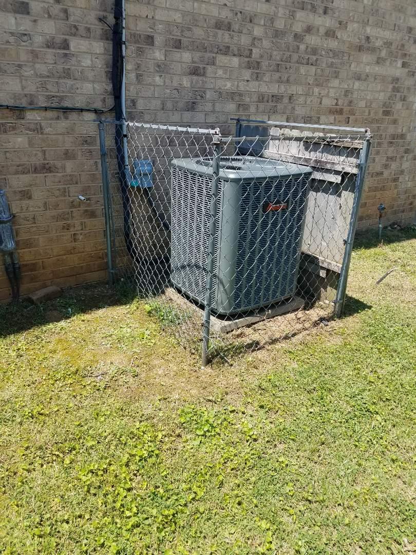 McDonald, TN - Service call, performed repair on Amana heat pump split system