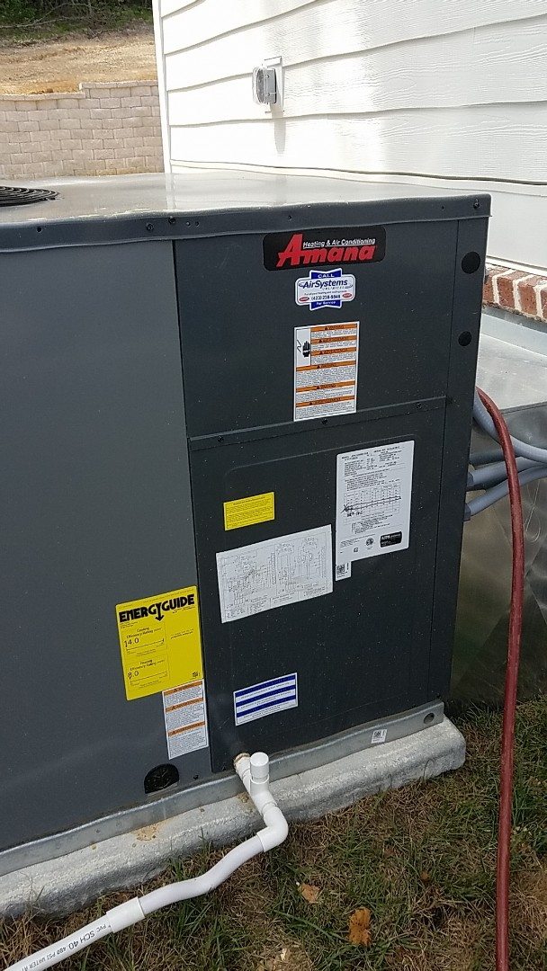 Georgetown, TN - Service call. Performed repair on Amana AC