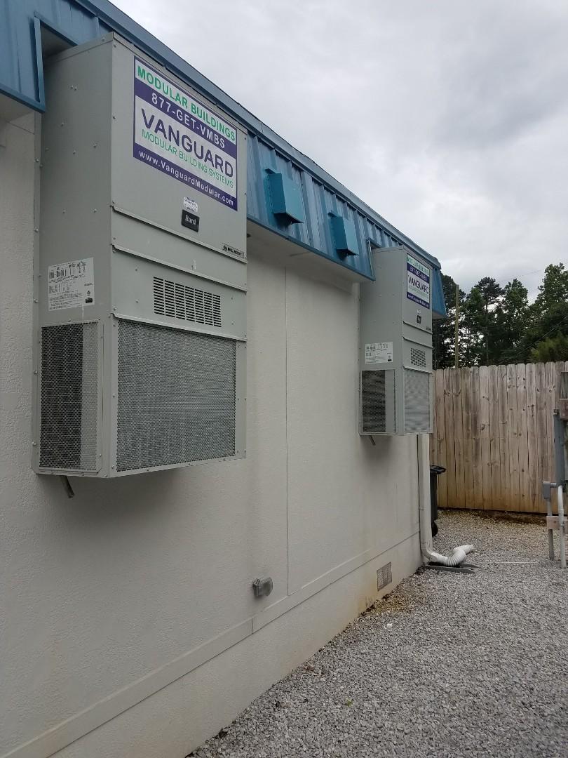 McDonald, TN - Service call.  Performed repair on Bard condenser unit