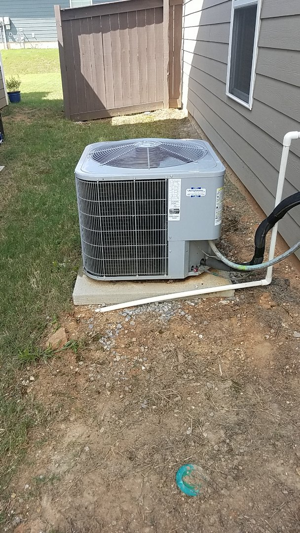 Chattanooga, TN - Service call. Performed A/c repair on a Carrier system.