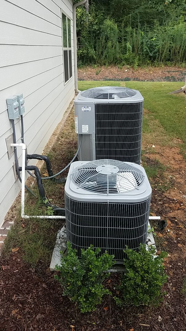 Chattanooga, TN - Service call. Performed A/c air balance on a Carrier system.