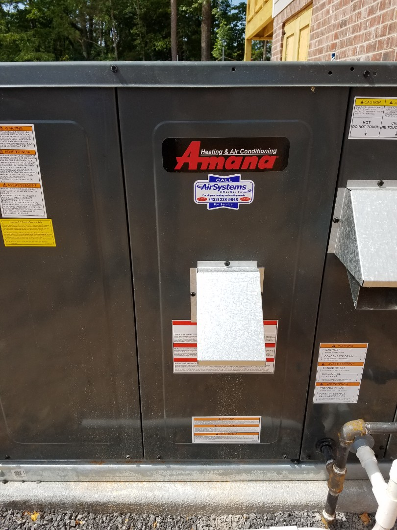Chattanooga, TN - Service call. Performed repair on Amana AC