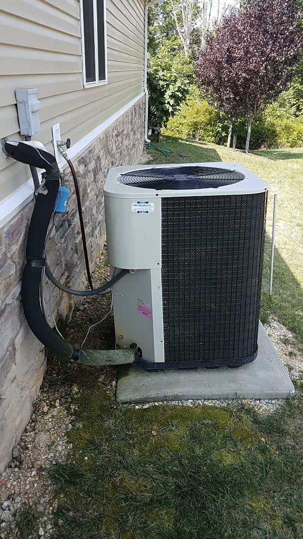 Ooltewah, TN - Service call. Performed service on a Nutone Heat Pump system.