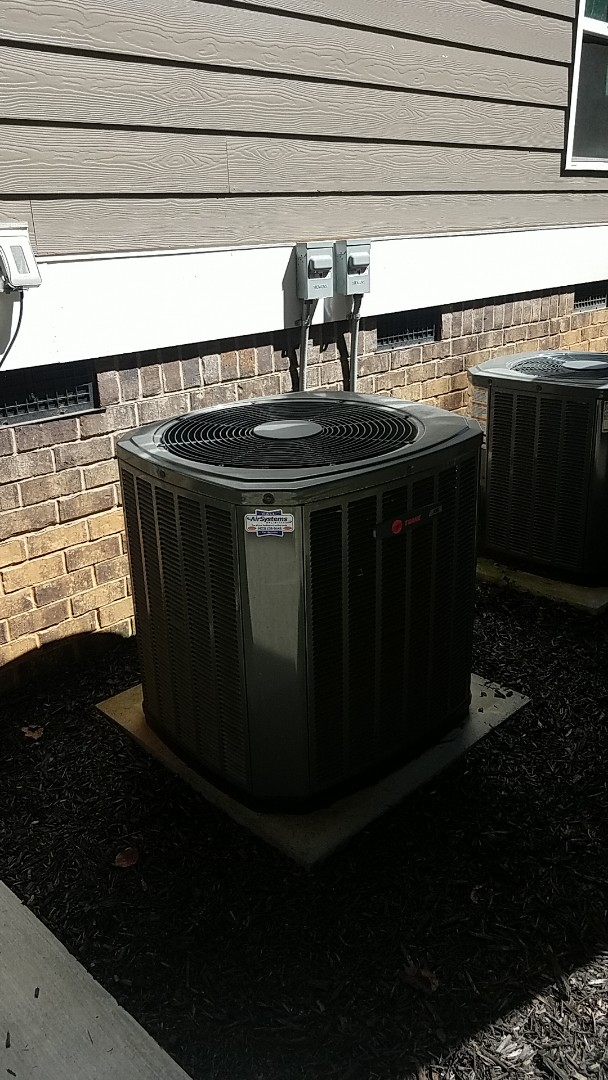 Apison, TN - Service call. Performed service on a Trane system.