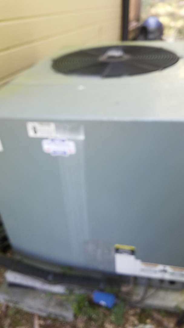 Harrison, TN - Service call. Performed repair on Rheem heat pump