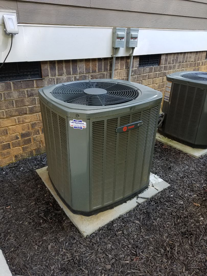 Apison, TN - Service call. Performed repair on Trane AC