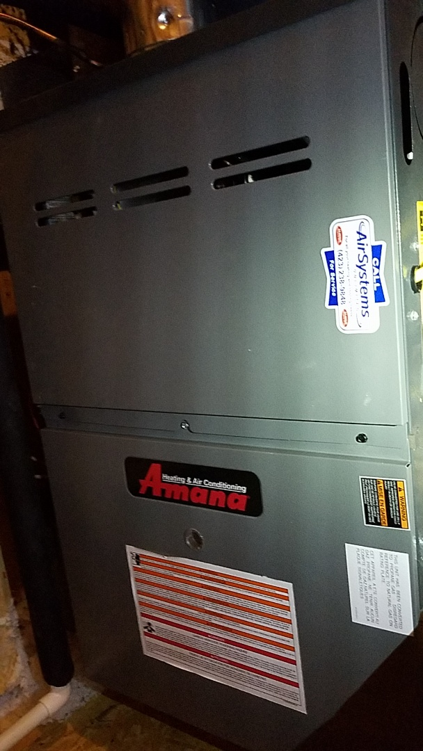 Cleveland, TN - Service call. Performed repair on Amana AC
