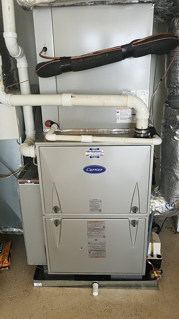 Chattanooga, TN - Installation call. Performed install of New Carrier Ac