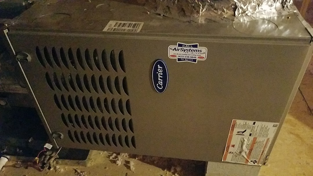 Cleveland, TN - Maintenance call. Performed maintenance on Carrier furnace