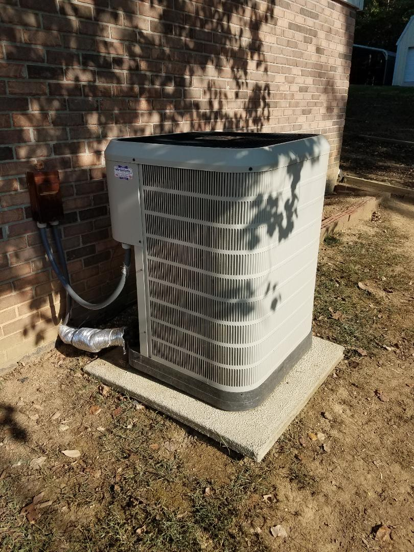 Cleveland, TN - Service call. Performed repair on nordyne heat pump