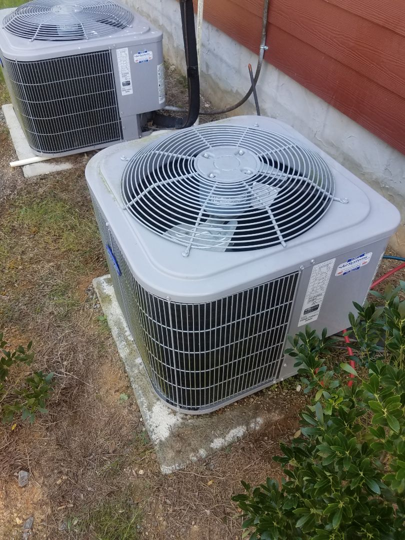 Cleveland, TN - Service call . Performed repair on carrier AC unit