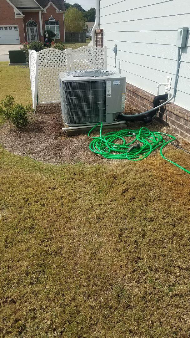 Chattanooga, TN - Service call, performed repair on carrier heat pump