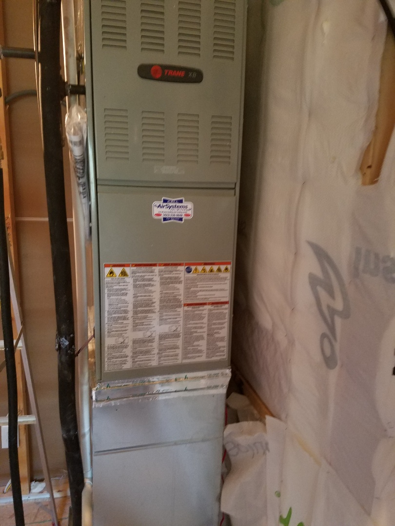 Chattanooga, TN - Service call. Performed repair on Trane AC