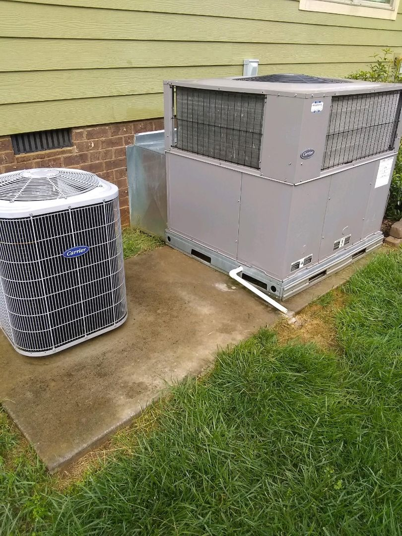 Apison, TN - Service call.  Performed repair on carrier condenser