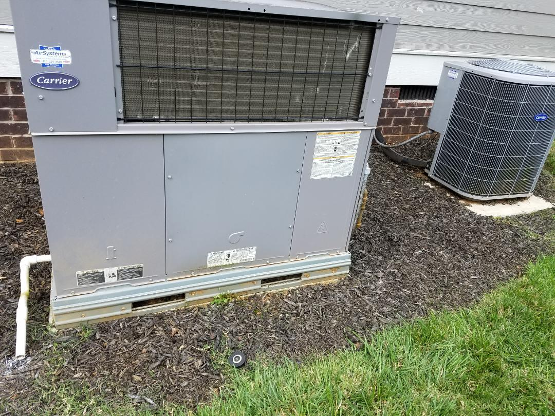 Apison, TN - Service call. Performed repair on Carrier furnace