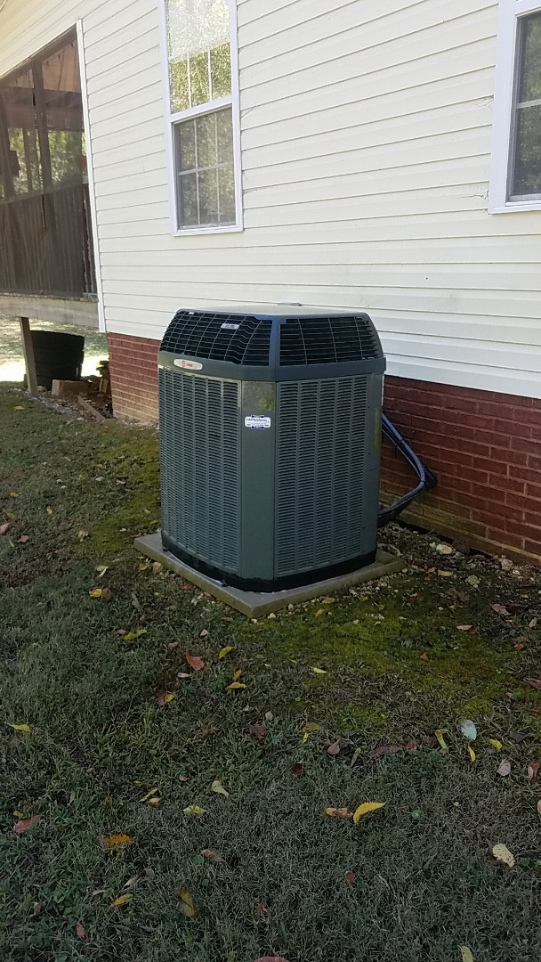 Ooltewah, TN - Service call. Completed Fall Preventive maintenance on a Trane Heat Pump system.