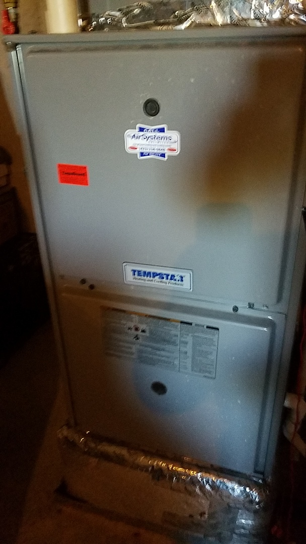 Soddy-Daisy, TN - Service call. Performed repair on Tempstar furnace