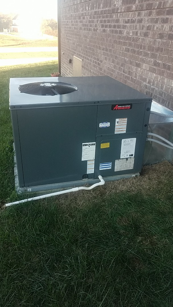 Harrison, TN - Service call. Performed service on an Amana Heat Pump system.